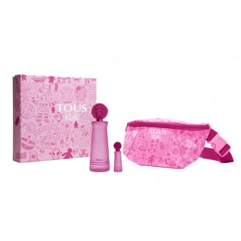 Tous Kids Girl EDT Spray 100ml Set 3 Pieces