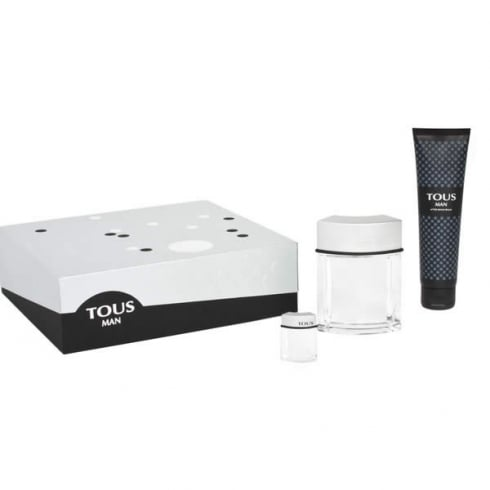 Tous Man EDT Spray 100ml Set 3 Pieces 2014