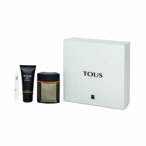 Tous Man Intense EDT Spray 100ml Set 3 Pieces