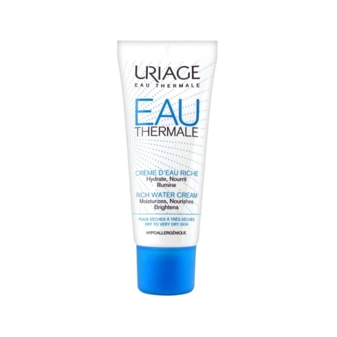Uriage Eau Thermale Rich Water Cream 40ml - Dry Skin