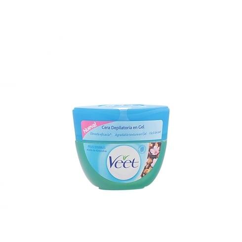 Veet Body Hair Removal Gel Aceite De Almendras Sensitive Skin 250ml