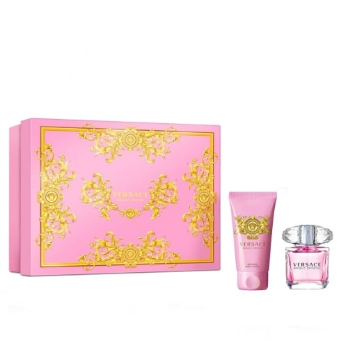Versace Bright Crystal Gift Set - 30ml EDT + 50ml Body Lotion