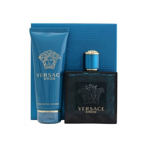 Versace Eros Gift Set 100ml EDT + 100ml Shower Gel