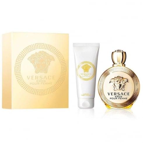 Versace Eros Pour Femme Xmas Set 2016 - 30ml EDP + 50ml Body Lotion