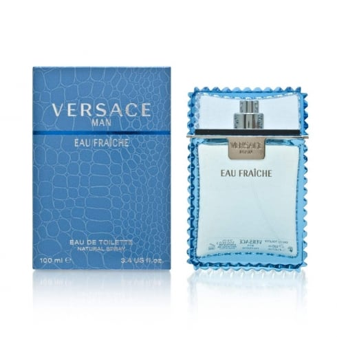 Versace Man Eau Fraiche Aftershave Lotion 100ml Splash