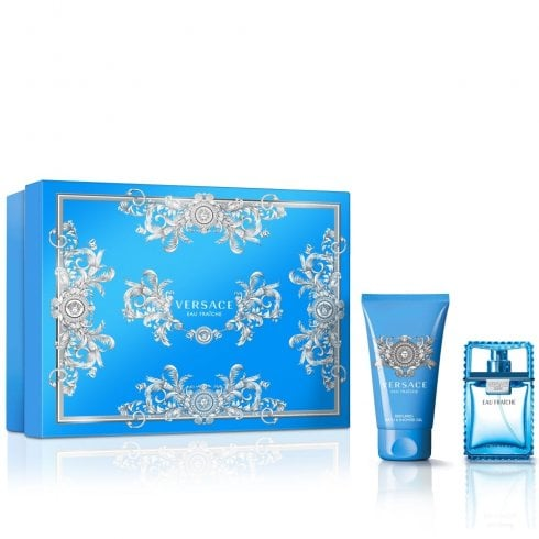 Versace Man Eau Fraiche Gift Set 30ml EDT + 50ml Shower Gel