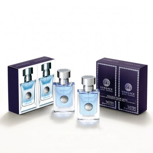 Versace Pour Homme Duo Pack 2 x 30ml EDT Spray