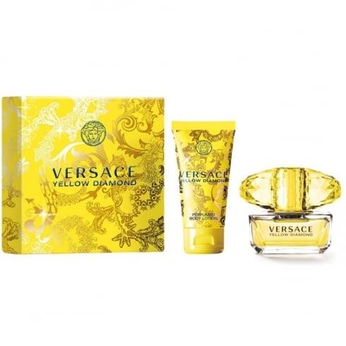 Versace Yellow Diamond Gift Set - 30ml EDT + 50ml Body Lotion