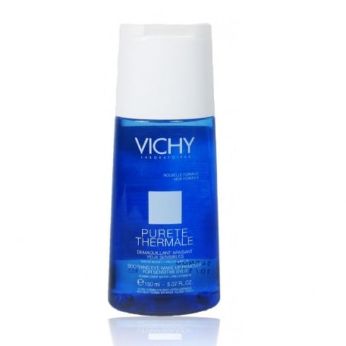 Vichy Pureté Thermale Soothing Eye Make Up Remover For Sensitive Eyes 150ml