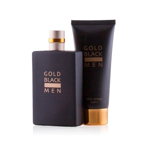 Vicinanza Gold Black EDT Spray 100ml Set 2 Pieces