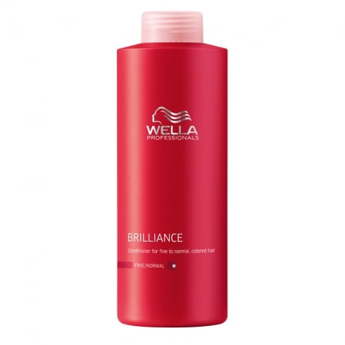 Wella Brilliance Conditioner Fine Normal Hair 1000ml