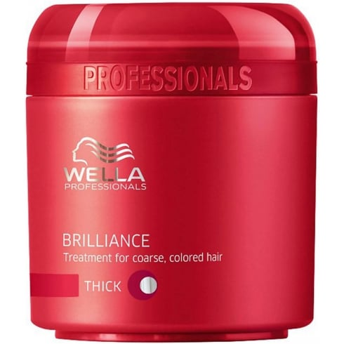 Wella Brilliance Mask Thick Hair 150ml