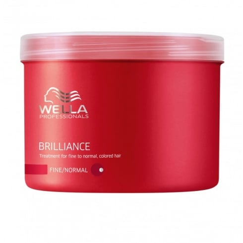 Wella Brilliance Mask Thick Hair 500ml