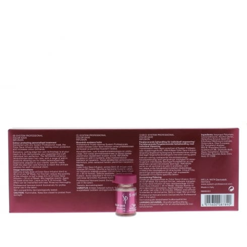 Wella Infusions Sp Volumize Infusion No4 6 X 5ml
