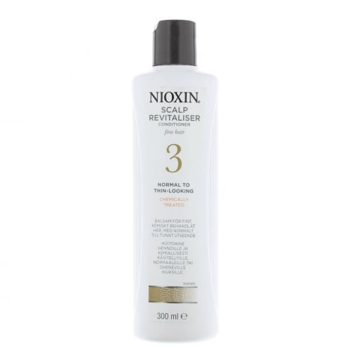 Wella Nioxin Scalp Revitaliser Conditioner For Fine Hair No3 300ml