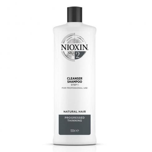 Wella Nioxin Shampoo Cleanser System 2 1000ml