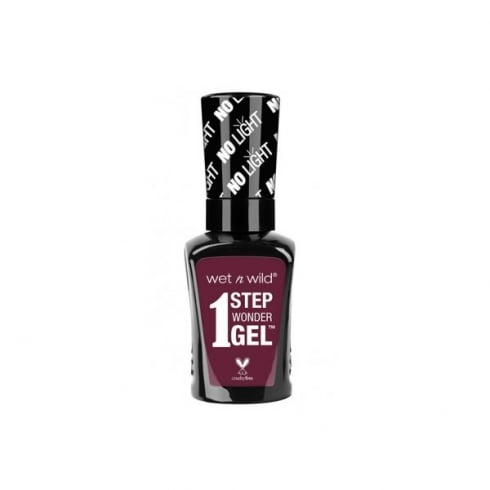 Wet n Wild 1 Step Wondergel Nail Color 733A Left Morooned