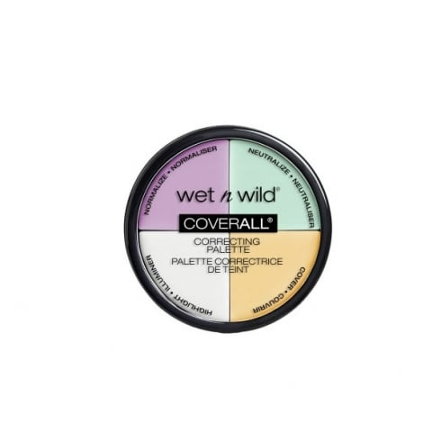 Wet n Wild Coverall Correcting Palette 349 Commentary