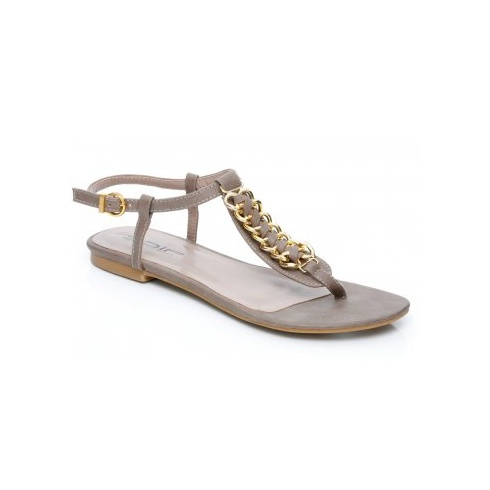 d01320a0e148 Unze Women Sandals Casual Flat Sandals - Grey - Unze from Direct Beautique  UK