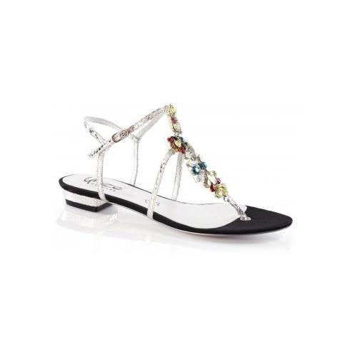 Unze Women Sandals Evening Flat Sandals - Black