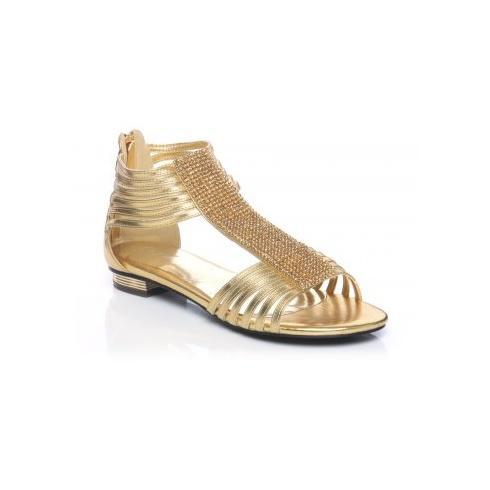 Unze Women Sandals Evening Flat Sandals