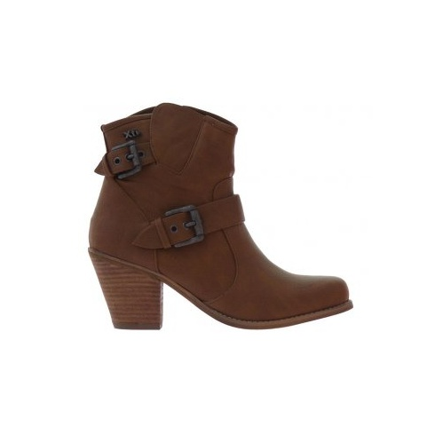 Xti Womens Xti Ankle Boots Brown