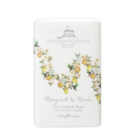 Woods of Windsor Bergamot & Neroli Fine English Soap 250g