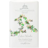 Woods of Windsor Cedar Woods Fine English Soap 250g