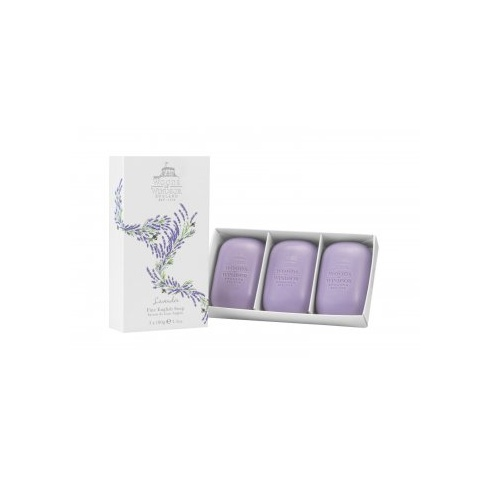 Woods of Windsor Lavender Fine English Soap 3 x 100g