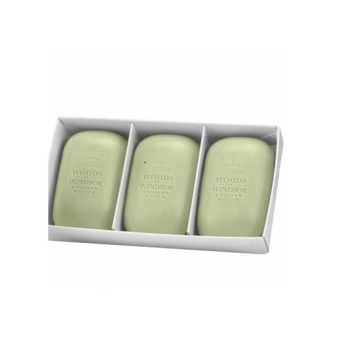 Woods of Windsor White Jasmine Fine English Soap 3 x 100g