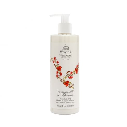 Woods of Windsor Wow Pomegranate & Hibiscus H&B Lotion 350ml