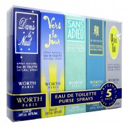Worth Love Poem 5 Piece Gift Set 10ml EDT Spray Collection