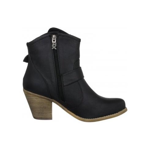 Xti Ladies Ankle Boot Black - 25412