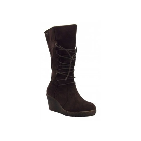 Xti Ladies Wedge Boot - 25402
