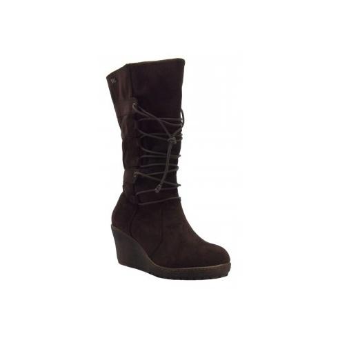 Xti Ladies Wedge Boot - 25402