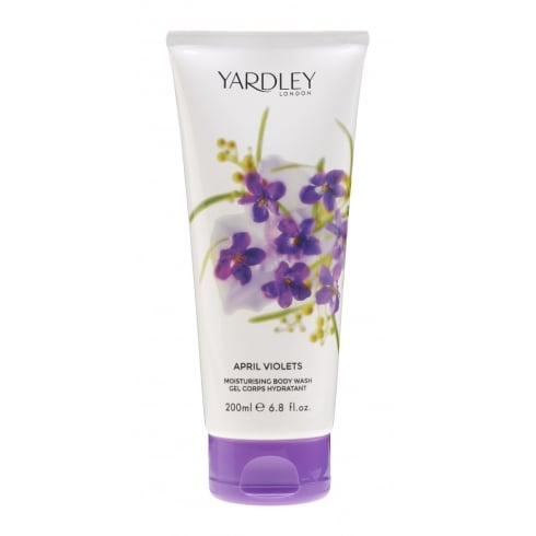 Yardley April Violets Body Wash 200ml