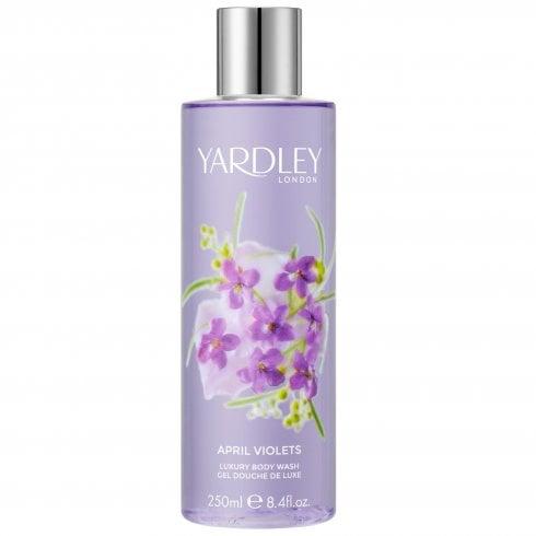 Yardley April Violets Body Wash 250ml