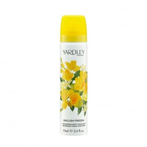 Yardley English Freesia Body Spray 75ml