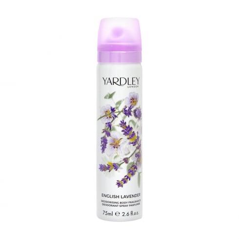 Yardley English Lavender Deodorant Body Spray 75ml
