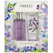 Yardley - English Lavender EDT Spray 125ml & Moisturising Body Lotion 100ml for Women
