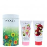 Yardley Hand Cream Duo In Tin 2 X 50ml Rose & Dahlia