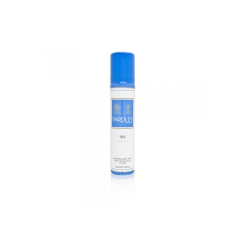 Yardley Iris Deodorant Body Spray 75ml