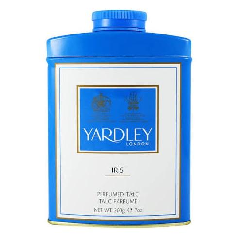 Yardley Iris Perfumed Talc 200g