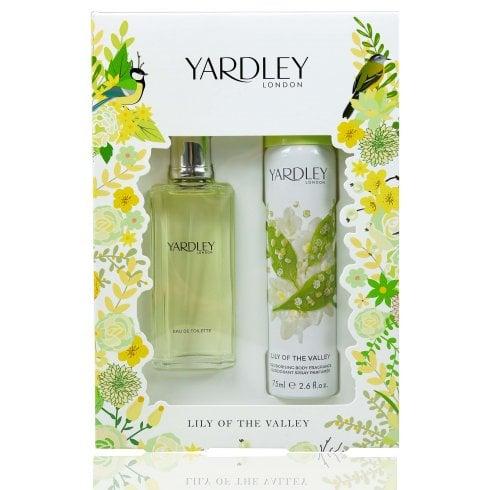 Yardley Lily of the Valley 50ml EDT Spray / 75ml Deodorant