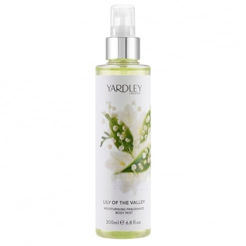 Yardley Lily of the Valley Body Mist 200ml