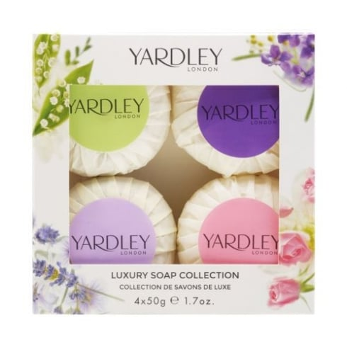 Yardley Mixed Soap Collection 4x50g