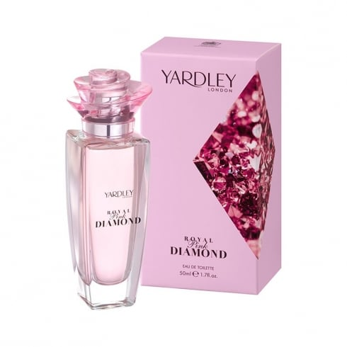 Yardley Royal Pink Diamond 50ml EDT Spray