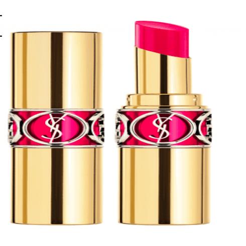 YSL Rouge Volupté Shine N° 6 - Pink In Devotion