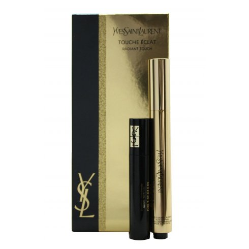 YSL Touche Eclat Radiant Touch Gift Set Touche Eclat No. 2 (2.5ml) + Volume Effect Mascara 2ml Black