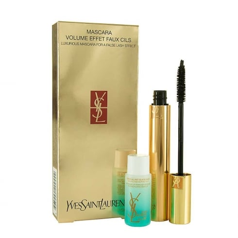YSL Yves Saint Laurent Coffret Mascara Volume Effet Faux Cils Black + Make-up Remover 30ml